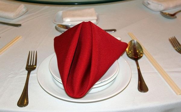 ナプキンのテーブルマナー!ナプキンはいつ広げるの?